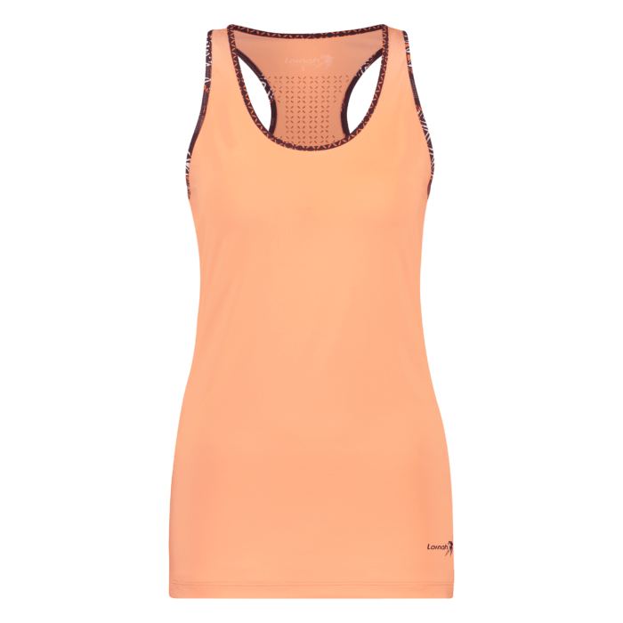 Ayo tank top melon front