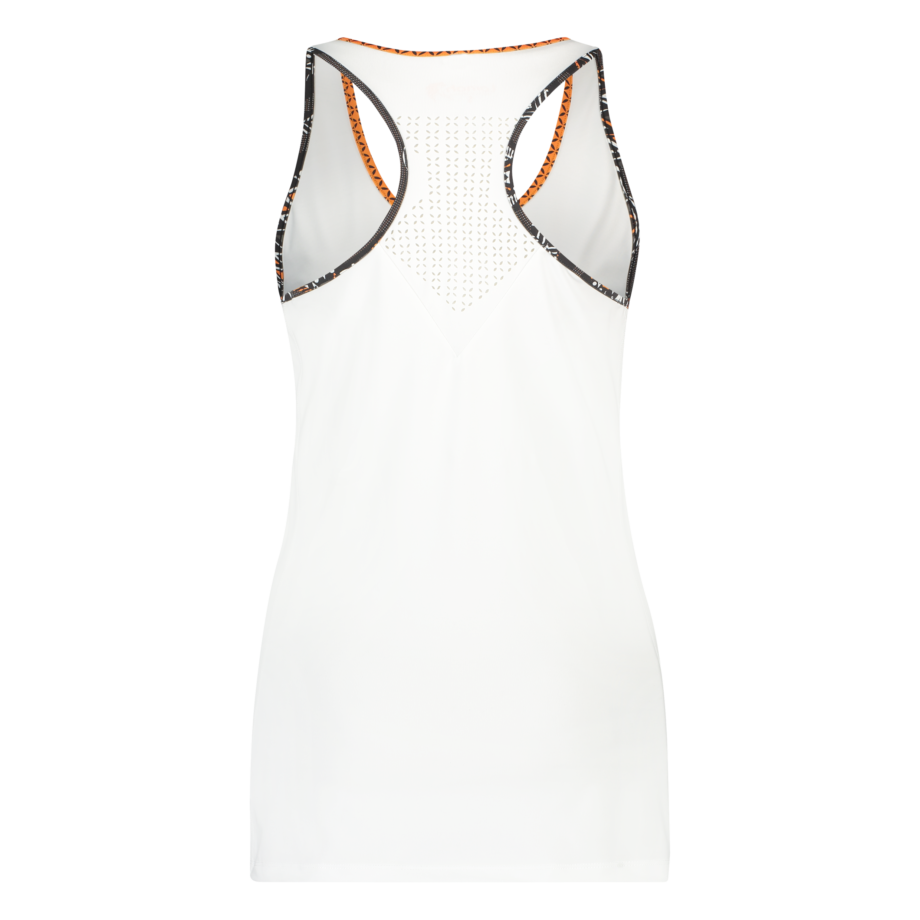 Ayo tank top white back