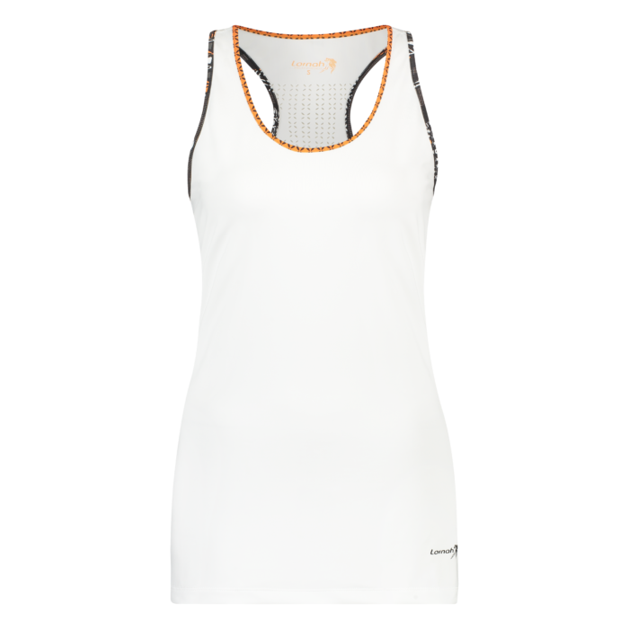 Ayo tank top white front